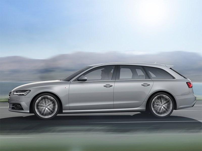 Audi A6 Avant 2015 вид сбоку