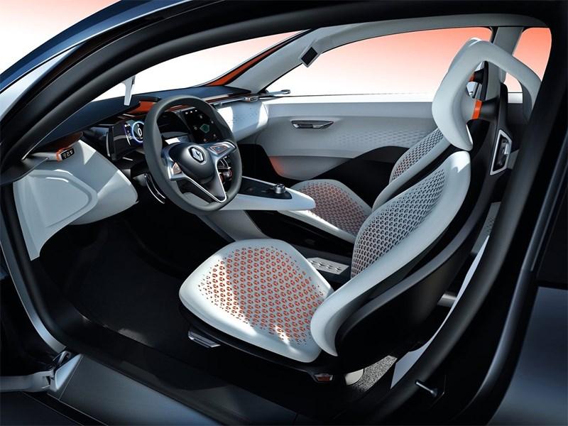 Renault Eolab Concept 2014 передние кресла