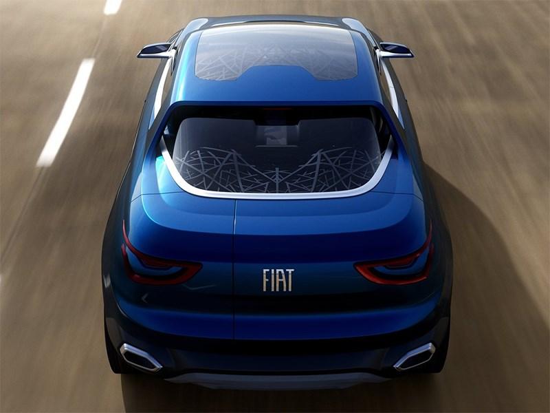Fiat FCC4 concept 2014 вид сзади