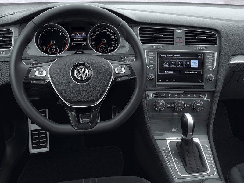 Volkswagen Golf Alltrack 2015 водительское место