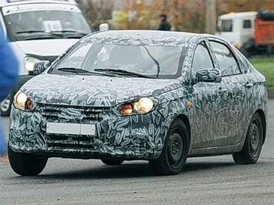 Lada Vesta пройдет зимние испытания в Европе