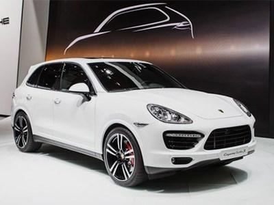В Детройте дебютировал новый Porsche Cayenne Turbo S