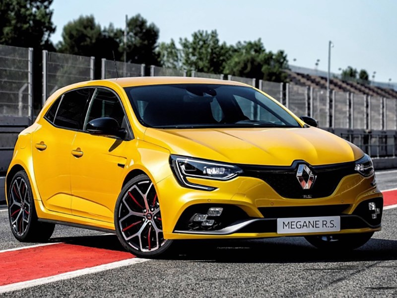 Renault рассекретила Megane RS Trophy Фото Авто Коломна