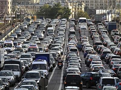 Москва и Петербург вошли в список городов с наибольшим количеством пробок