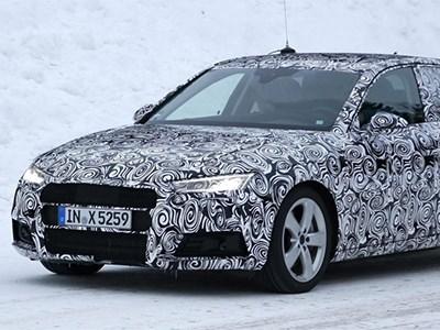 Audi A4 получит светодиодную оптику и несколько разных двигателей