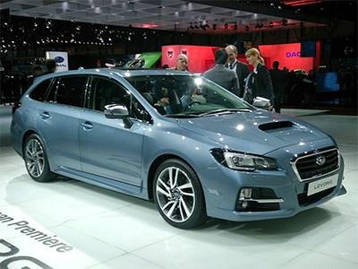 Subaru показал в Женеве три европейские новинки