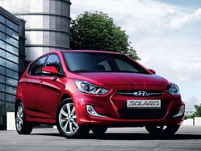 Hyundai Solaris стал самой востребованной моделью в России