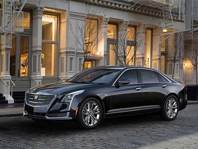 Cadillac представил премиальный седан CT6 нового модельного года