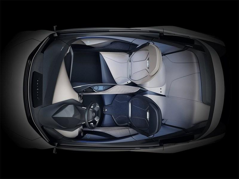 Lexus LF-SA Concept 2015 салон