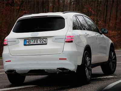 Преемник модели Mercedes-Benz GLC проходит финальные испытания