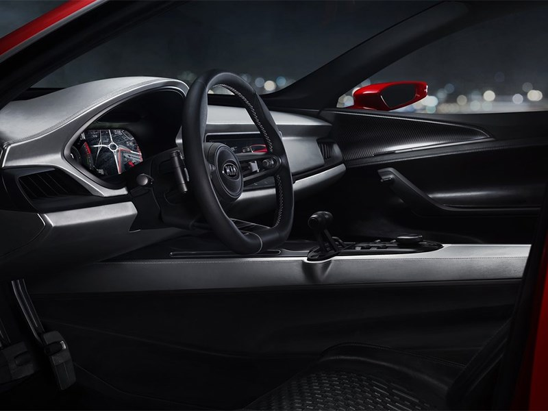 Kia Sportspace Concept 2015 водительское место