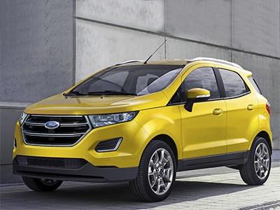 Обновленный Ford EcoSport появится уже в этом полугодии