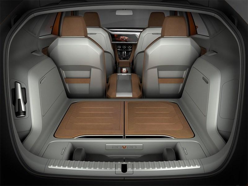 Seat 20V20 Concept 2015 багажное отделение