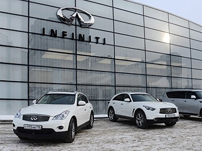 Автомобили Infiniti будут доступны со скидкой до конца месяца