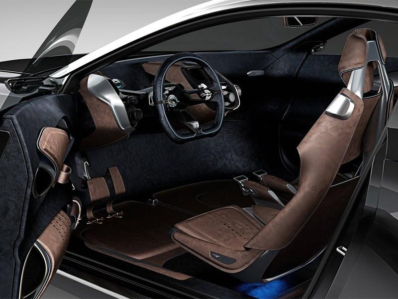 Aston Martin DBX Concept 2015 водительское место