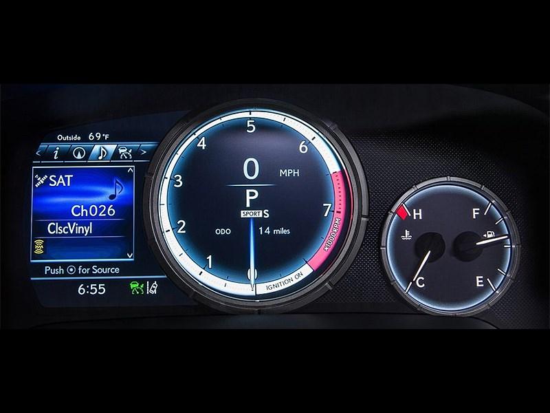 Lexus RX 350 F Sport 2016 приборная панель
