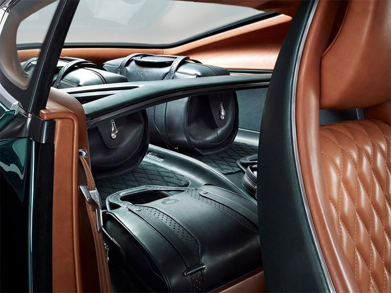 Bentley EXP 10 Speed 6 Concept 2015 багажное отделение