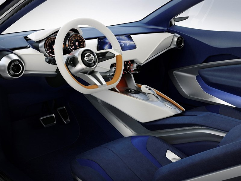 Nissan Sway Concept 2015 салон
