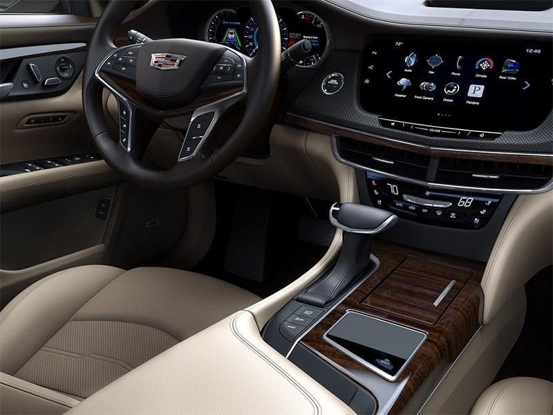 Cadillac CT6 2016 салон