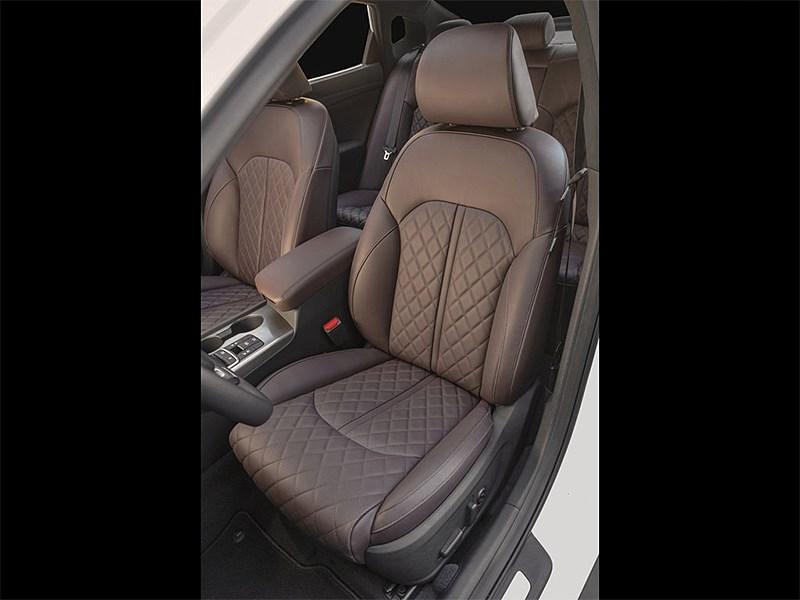 Kia Optima 2016 передние кресла