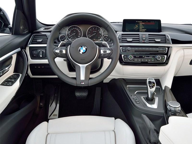 BMW 3 series 2016 водительское место