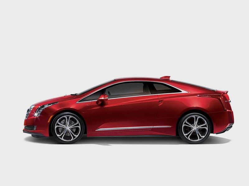 Cadillac ELR 2016 вид сбоку
