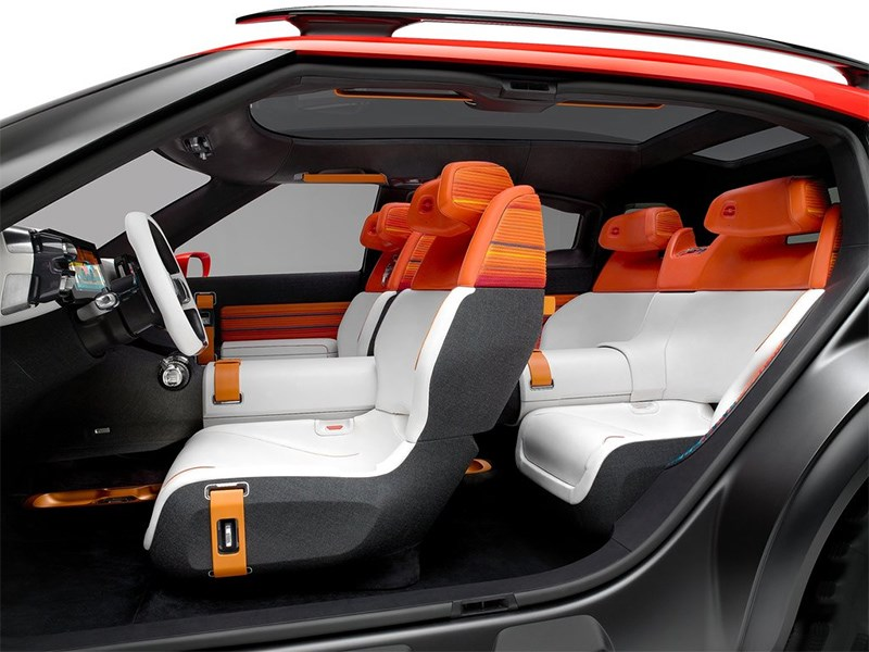 Citroen Aircross Concept 2015 салон