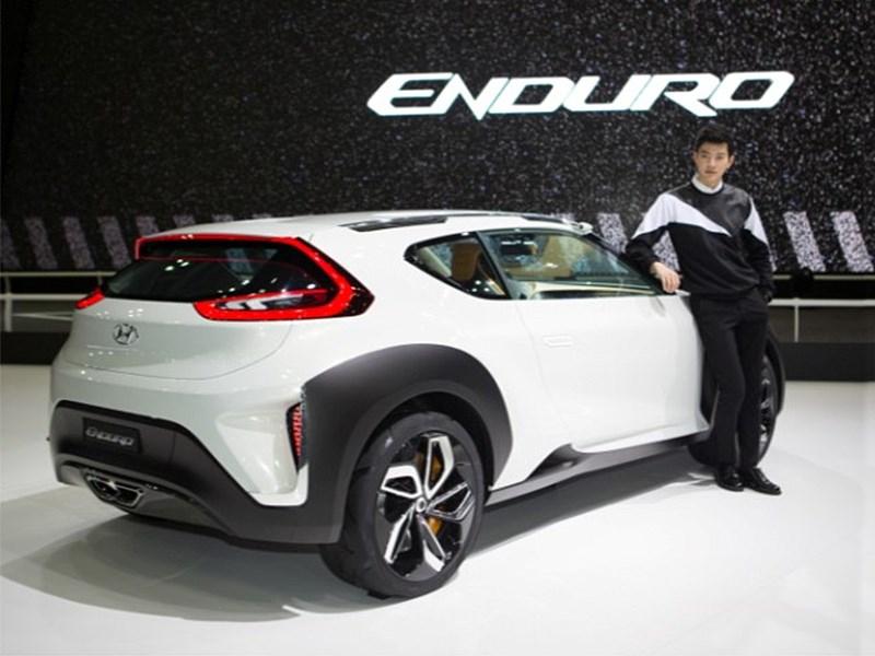 Hyundai Enduro Concept 2015 вид сзади