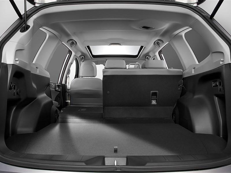 Subaru Forester 2015 багажное отделение