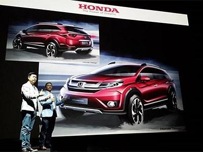 В Индии анонсировали появление нового семиместного кроссовера от Honda