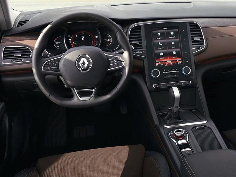 Renault Talisman 2016 водительское место
