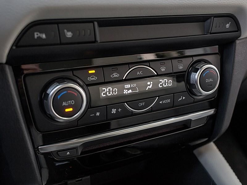 Mazda 6 2016 управление климатом