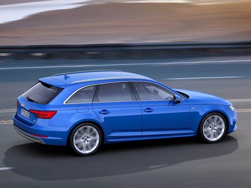 Audi A4 Avant 2016 вид сверху