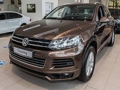 С первого августа Volkswagen Touareg подешевел
