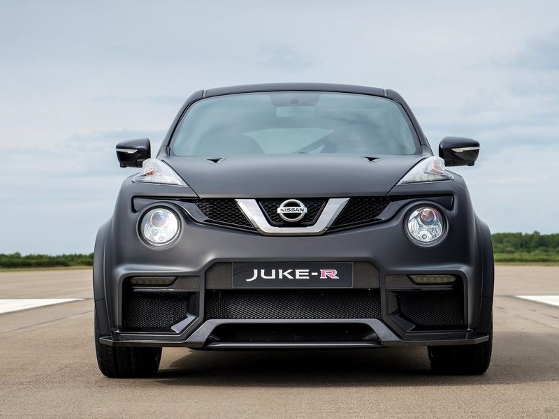 Nissan Juke-R Concept 2015 вид спереди 2