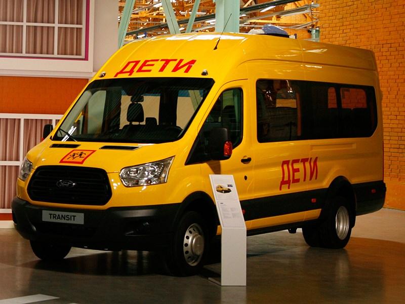 Ford Transit 2015 пассажирская версия