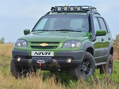 GM-АвтоВАЗ собрали уникальную версию Chevrolet Niva