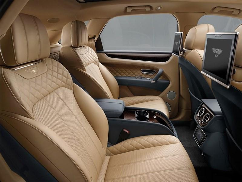 Bentley Bentayga 2016 задние кресла