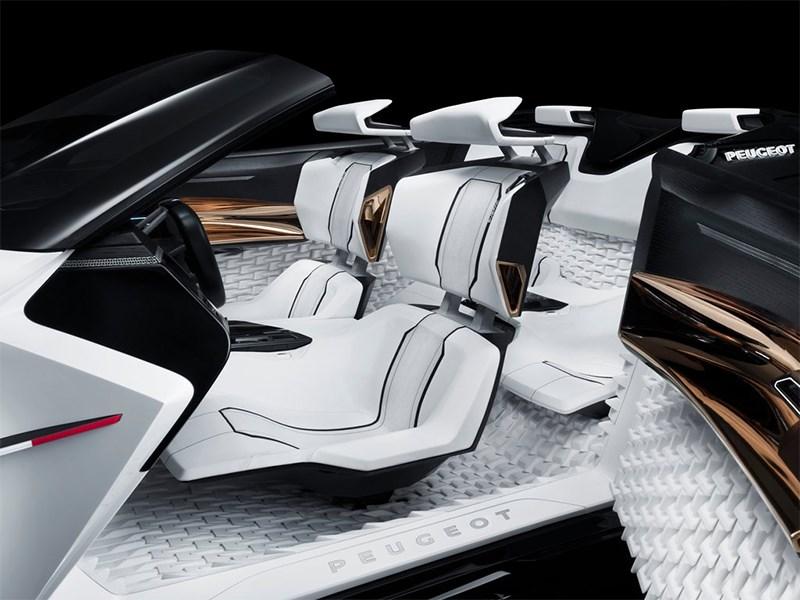 Peugeot Fractal Concept 2015 кресла