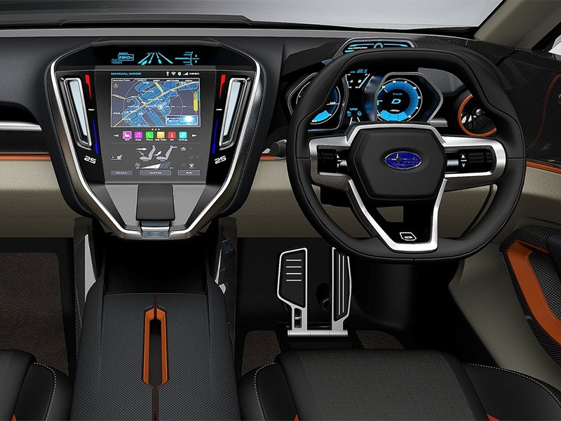 Subaru VIZIV Future Concept 2015 водительское место