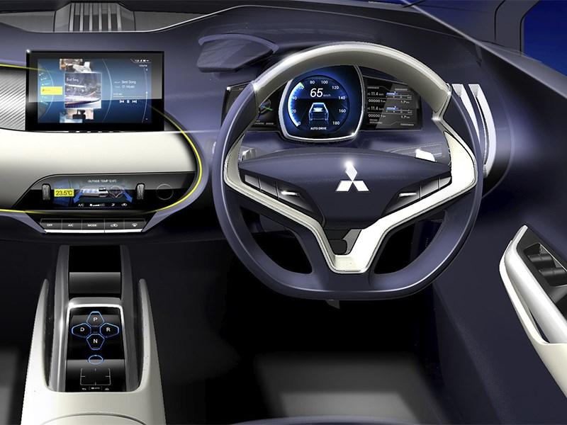 Mitsubushi eX concept 2015 водительское место