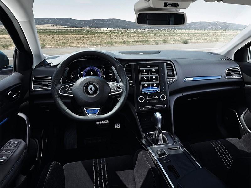 Renault Megane 2016 салон