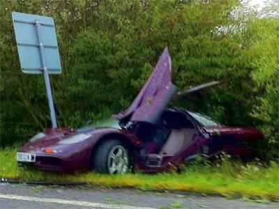 Авария с участием Мистера Бина обошлась в 1 млн евро страховщикам