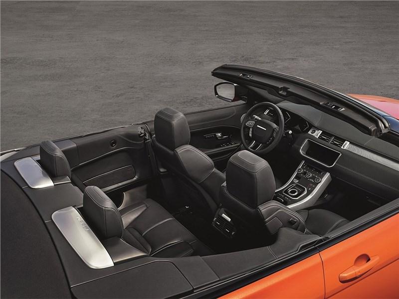 Land Rover Range Rover Evoque Convertible 2016 вид сверху