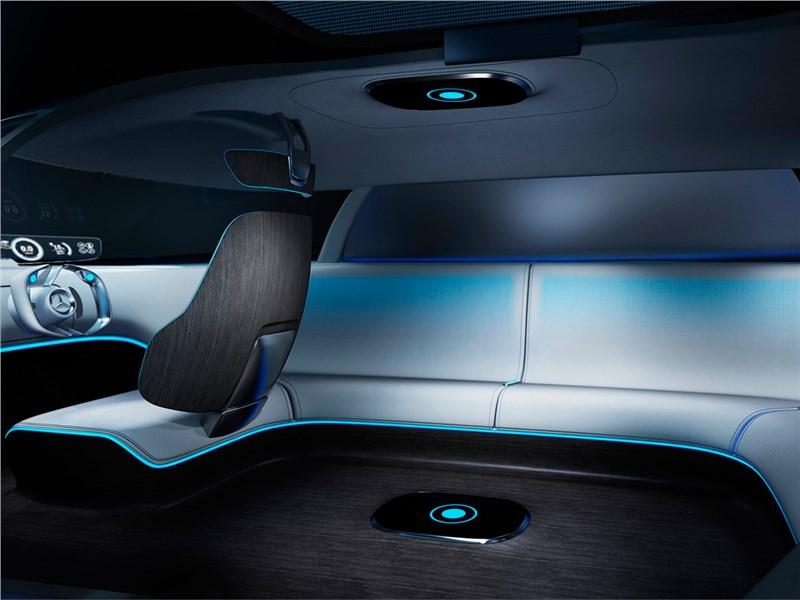Mercedes-Benz Vision Tokyo Concept 2015 салон