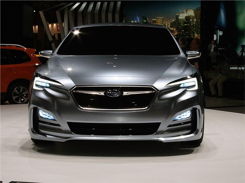 Subaru Impreza 5-Door concept 2015 вид спереди 2