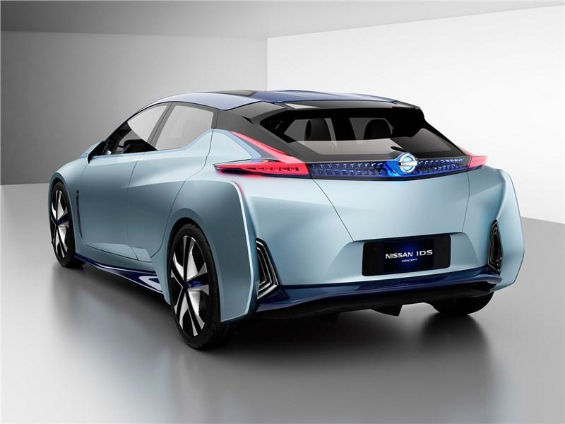 Nissan IDS concept 2015 вид сзади