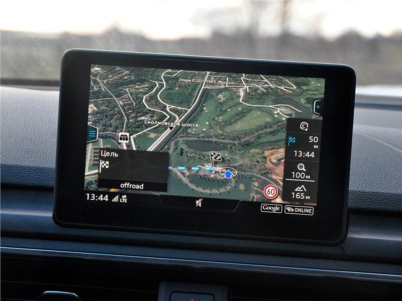 Audi A4 2016 монитор