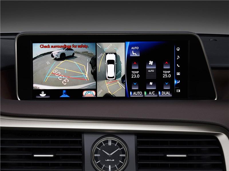 Lexus RX 2016 монитор