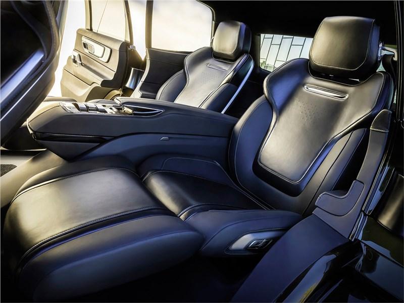 Kia Telluride Concept 2016 задний диван